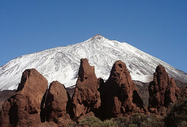 Tenerife Canary Islands Spain Pico De Teide