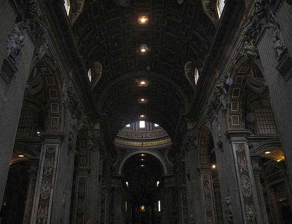 Basilica Church Paneling Wainscot San Pedro Archit