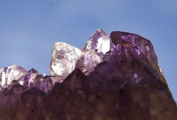 Amethyst Purple Mauve Dark Purple Violet Quartz Tr