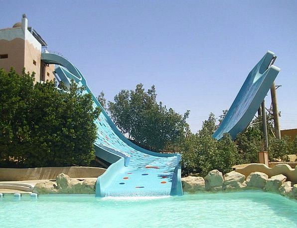 Aqua Park Transparency Holiday Break Slide Leisure
