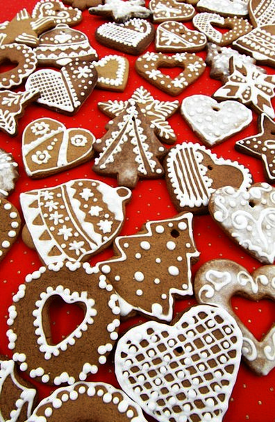 Christmas Drink Beautification Food Gingerbread De