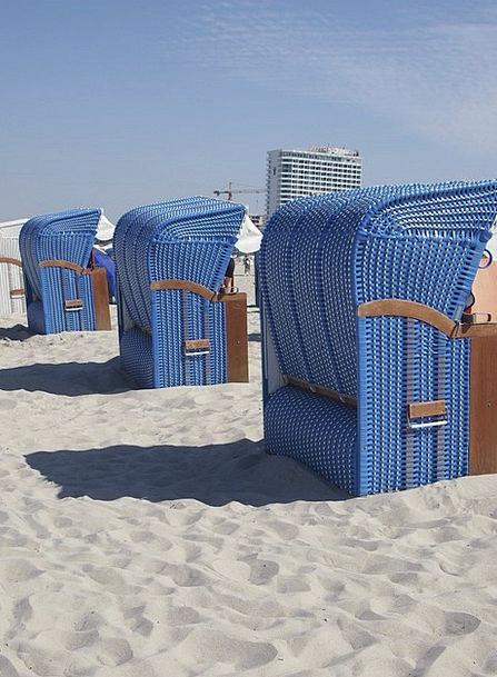 Beach Chair Sea Marine North Sea Wind Protection H