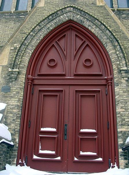 Door Entrance Ecclesiastical Architecture Church D