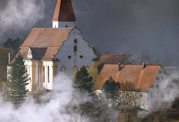 Church Ecclesiastical Mist Architecture Building F
