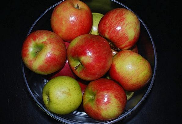 Apples Drink Ovary Food Nutrition Nourishment Frui