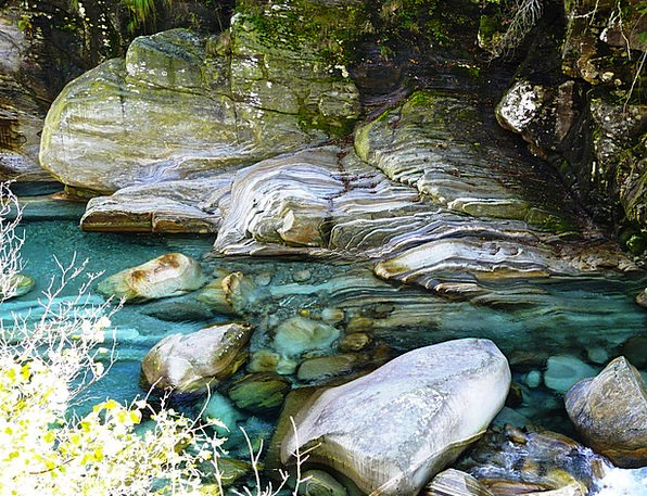 Verzasca Stream Water Aquatic River