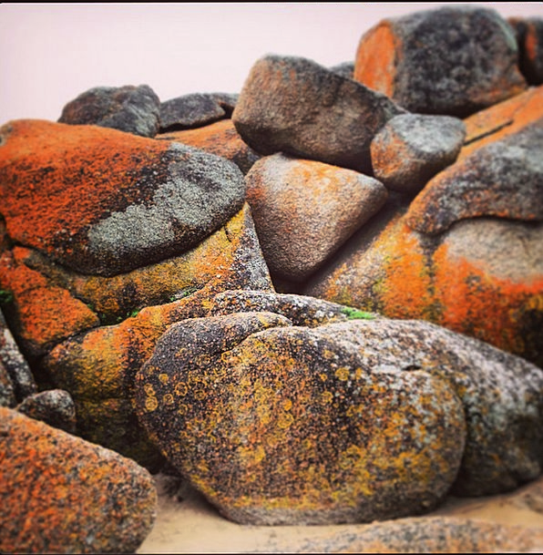 Boulders Rocks Landscapes Bloodshot Nature Rock Pi