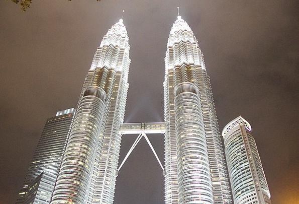 Petronas Towers Monuments Places Kuala Lumpur Klcc