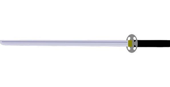 Sword Blade Armament Metal Metallic Weapon Battle
