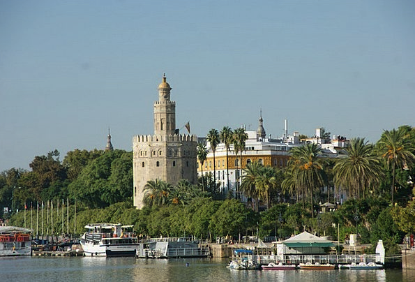 Torre Oro Andalusia Seville Spain