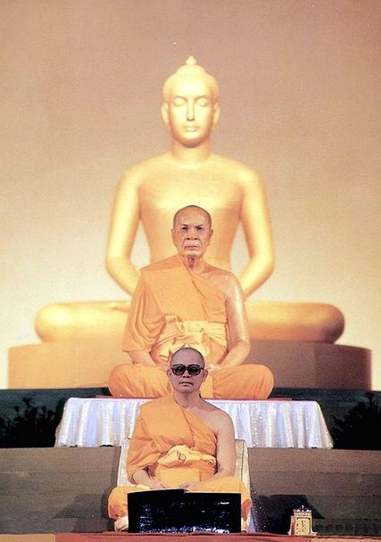 Buddhist Leader Frontrunner Budhas Teach Wat Buddh