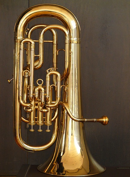 Euphonium Announce Brass Instrument Bugle Chapel I