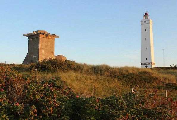 Denmark North Sea Blavand Bunker Shelter Lighthous
