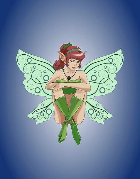 Fairy Pixie Fashion Enchanted Beauty Fantasy Imagi