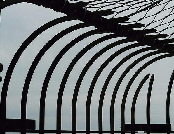 Prison Custodial Fence Barrier Prison Fence Alone