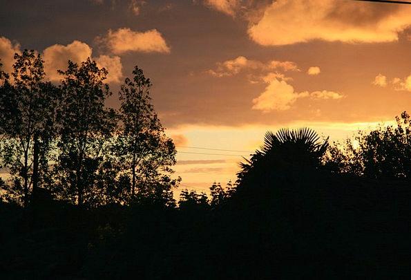 Sunset Sundown Vacation Gumshoe Travel Twilight Du