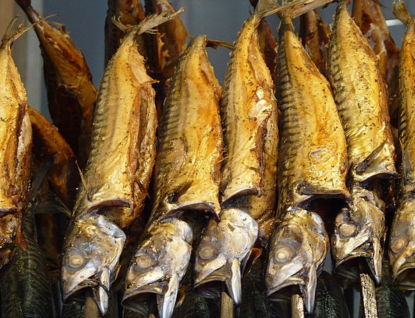 Smoked Fish Drink Food Fish Angle Smoked Trout Exc