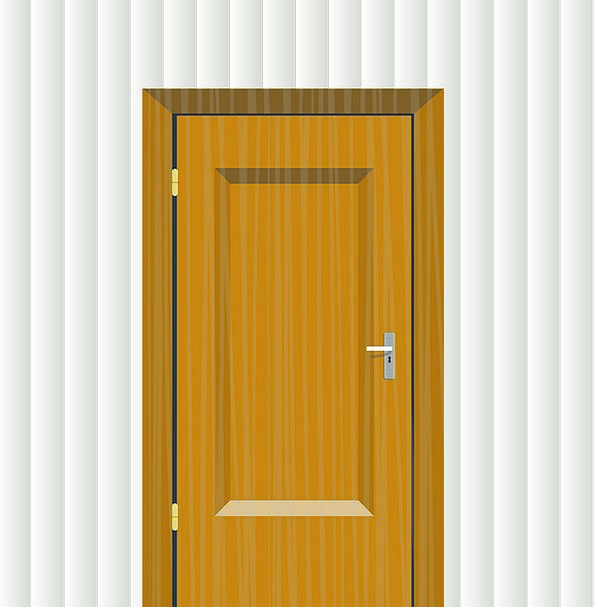 Wall Partition Entrance Inset Supplement Door Entr