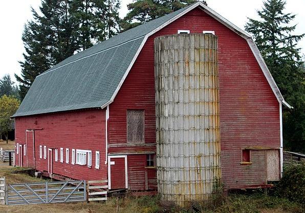 Barn Outbuilding Buildings Bloodshot Architecture