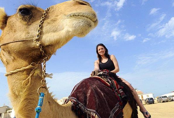 Iraq Fashion Beige Beauty Woman Lady Camel Outside
