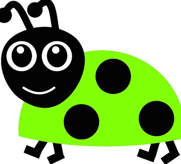 Ladybug Germ Lime Emerald Bug Ladybird Green Smili