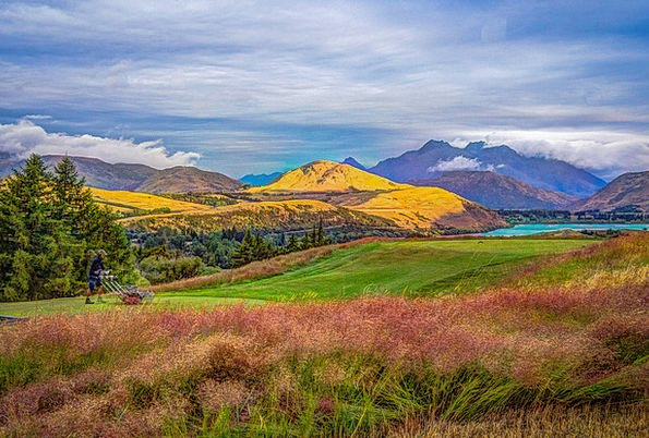 New Zealand Landscapes Nature Hdr Glenorchy Enviro
