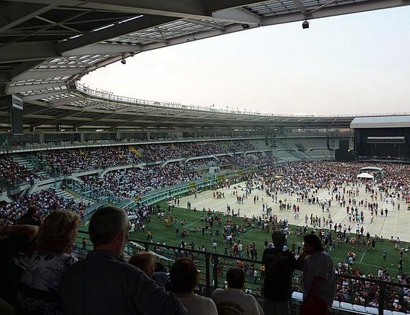 Stadium Arena Performance Stage Turin Concert