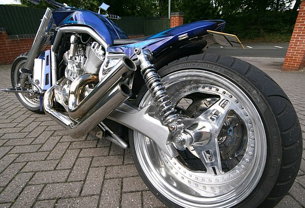 Motorbike Power Control Superbike Bike