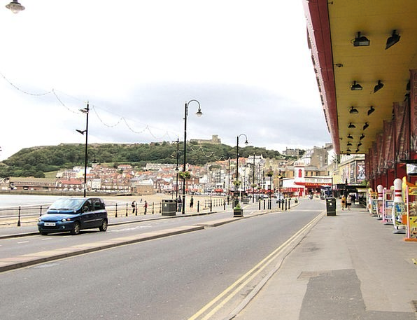 Scarborough Vacation Travel Coast Shore England Be