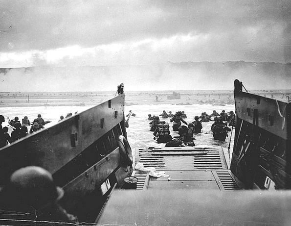 Landing Mooring Normandy Dropship Allied D Day Bat