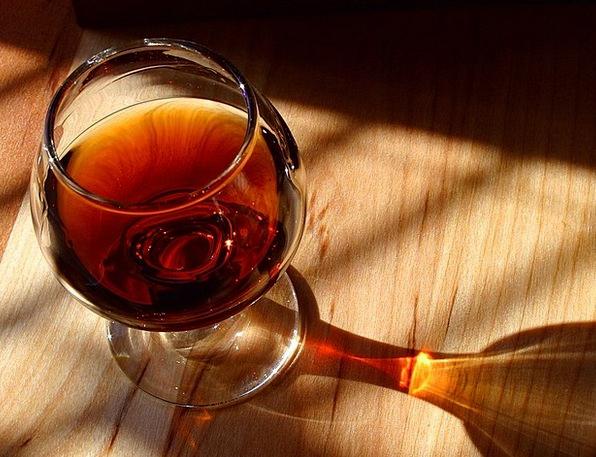 Cognac Alcohol Liquor Brandy Light High Percentage