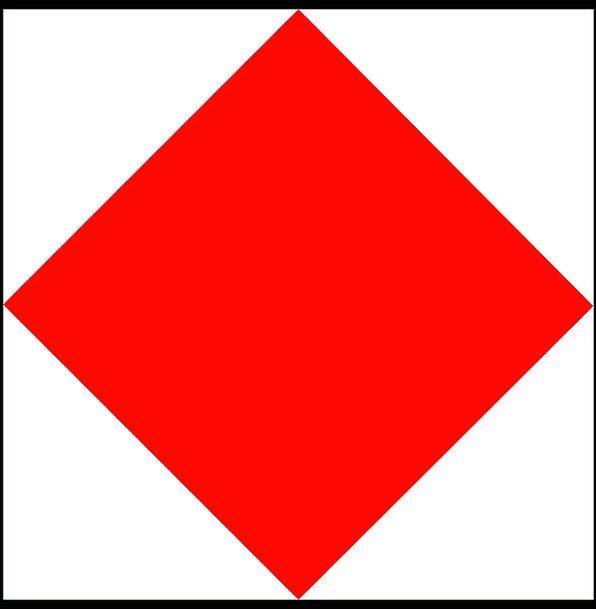 Maritime Standard Nautical Flag Vessel F Code Navi