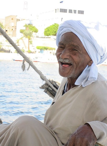 Nubians Egypt Nubia Nile Toothless Felucca Old Fac