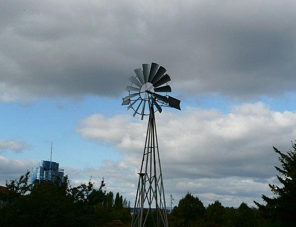 Pinwheel Rocket Breeze Wind Power Plant Wind Prope