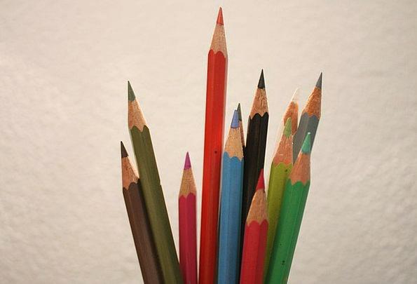 Pencil Write Insignia Pencils Writes Colors Colorf