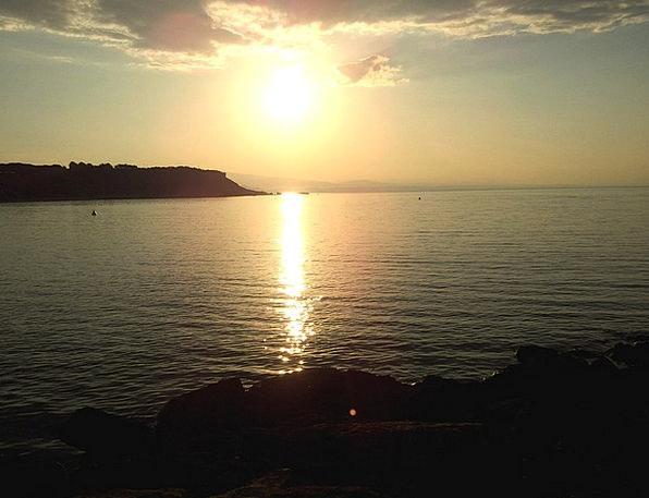Sunset Sundown Vacation Waterside Travel Naples Wa