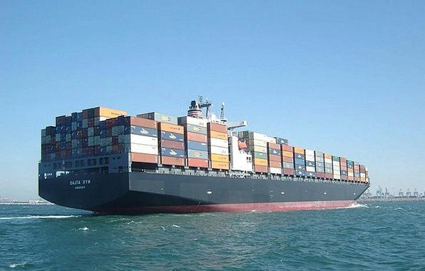 Container Ship Cargo Load Cargo Ship Shipping Deli
