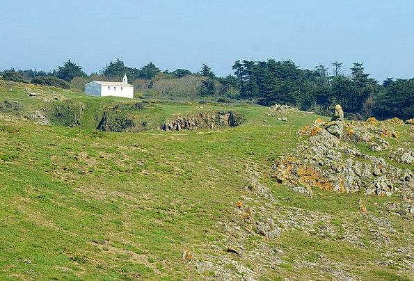 Chapel Sanctuary Landscapes Rough Nature Side Late