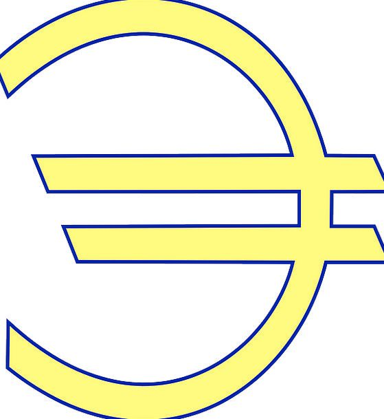 Euro Finance Business Sign Symbol Currency European Finance
