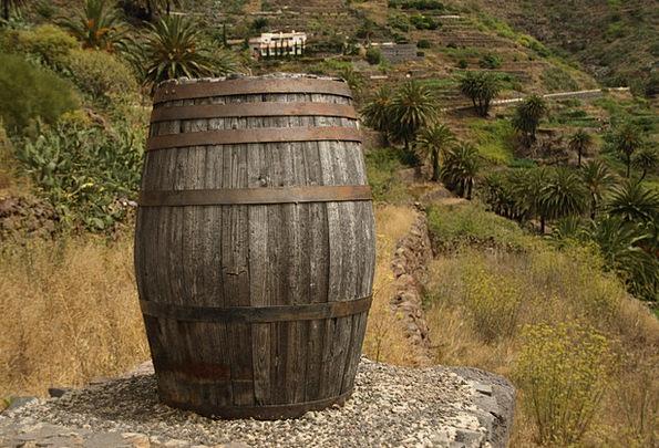 Ton Load Tub Wood Timber Barrel Diogenes Wooden Ba