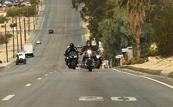 Twentynine Palms Traffic Transportation Motorcycle