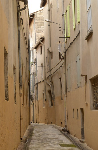 Alleyway Passage Buildings Architecture France Avi
