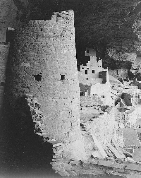 Mesa Verde National Park Monuments Places 1930S Ca