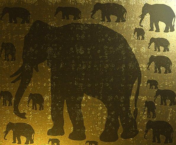 Elephant Monster Trek Animal Physical Safari Wrink
