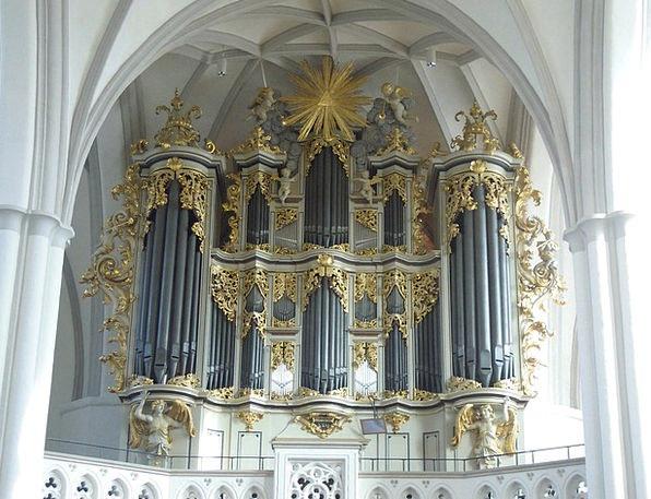 Berlin Ecclesiastical Church Organ Church Organ St