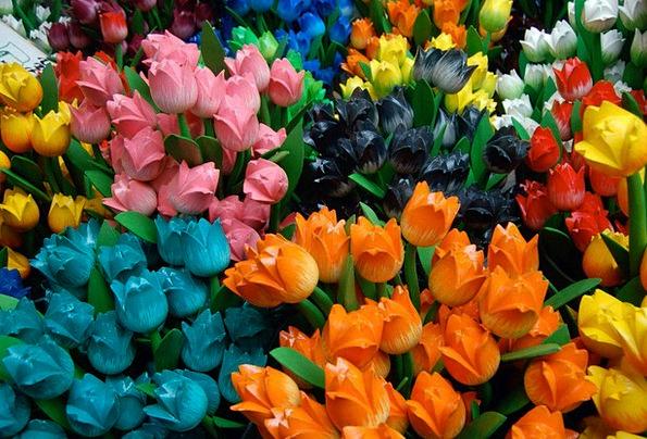 Tulips Artificial Tulips Dutch Tulips Artificial F
