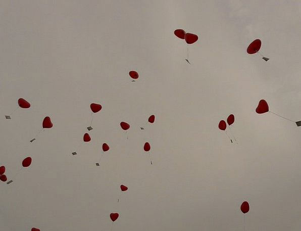 Balloons Inflatables Emotion Love Darling Heart Ca