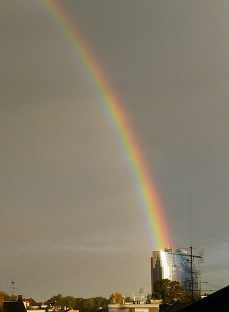 Rainbow Multicolored Landscapes Bending Nature Phe