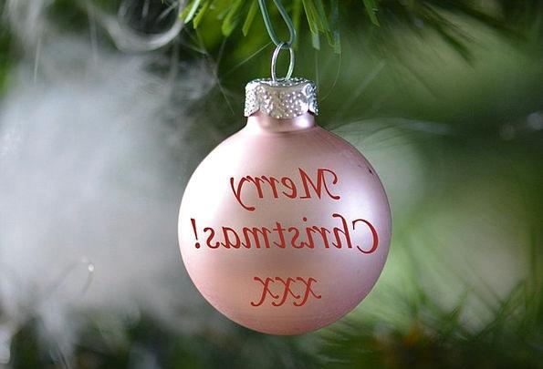 Christmas Decoration Beautification Christmas Baub