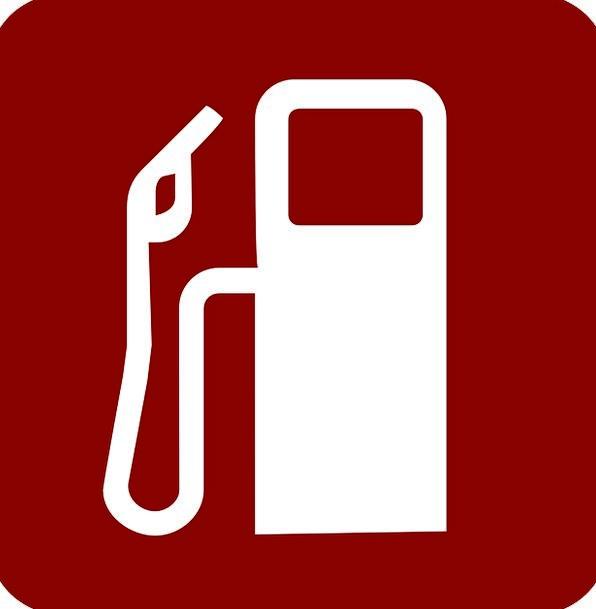 Gas Pump Bloodshot Fuel Petroleum Red Petrol Stati